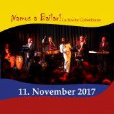 ¡Vamos a Bailar! La Noche Colombiana – Salsa Tanz & Live Musik von Conexión feat. Mayelis